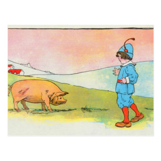 Mientras que fui a Bonner, resolví un cerdo Postal