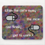 Mientras que Mousepad ausente del gato… Tapetes De Ratones