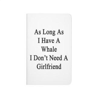 Mientras tenga una ballena yo no necesite un cuadernos