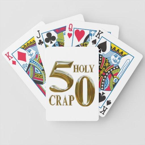 Mierda santa cartas de juego