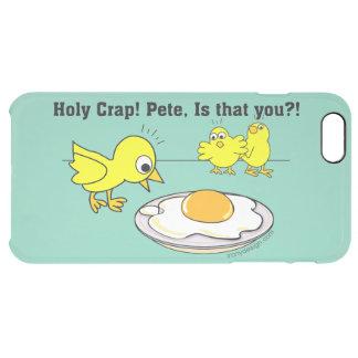 ¡Mierda santa! Humor de Pete Funda Clearly™ Deflector Para iPhone 6 Plus De Unc