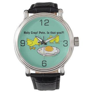 ¡Mierda santa! Humor de Pete Reloj