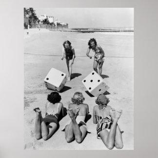 Mierdas en la arena, los años 40 impresiones