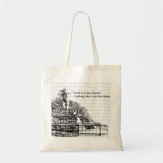 Mies Van Der Rohe Bag Bolsa Tela Barata