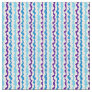 Miexed Berry Wiggly Stripes Fabric