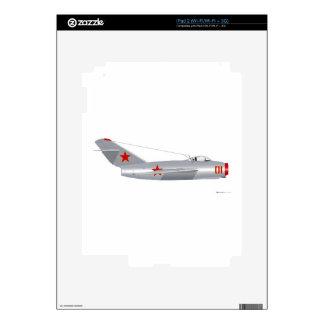 Mig 15 Fagot Skins For iPad 2