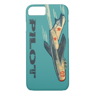 Mig 15 Russian Jet Fighter iPhone 7 Case