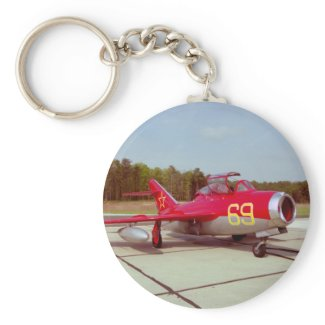 Mig-17 Trainer Keychain keychain