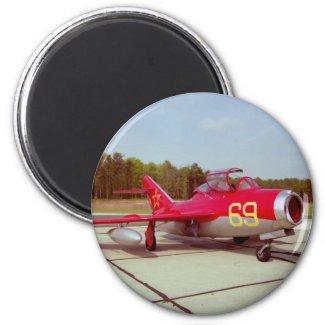 Mig-17 Trainer Magnet magnet