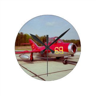 Mig-17 Trainer Medium Wall Clock