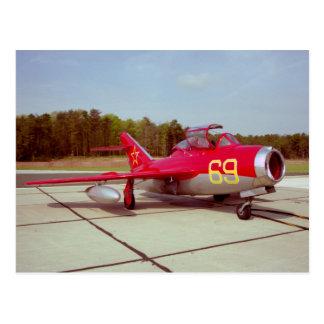 Mig-17 Trainer Postcard