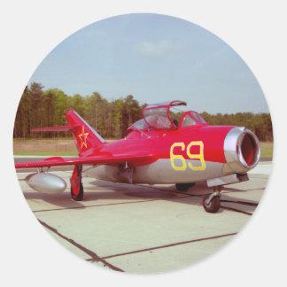 Mig-17 Trainer Sticker