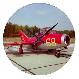 Mig-17 Trainer Wall Clock