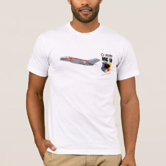 MiG 19 Military Jet Fighter Indonesian Air Force T-Shirt