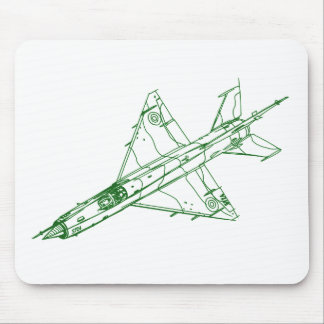 Mig-21 Fishbed Mousepad