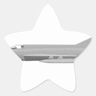 MiG 21MF Fishbed J Pegatina En Forma De Estrella