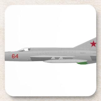 MiG 21MF Fishbed J Posavasos De Bebidas