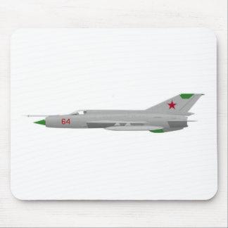 MiG 21MF Fishbed J Tapetes De Ratones