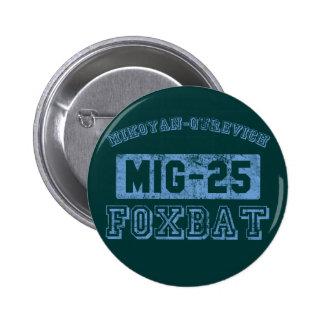 MIG-25 Foxbat - AZUL Pins