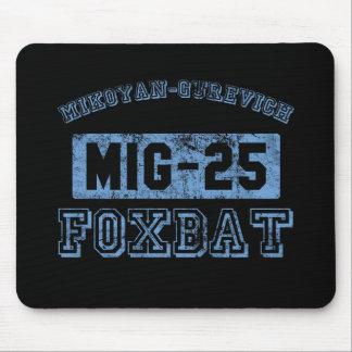MIG-25 Foxbat - BLUE Mouse Pad