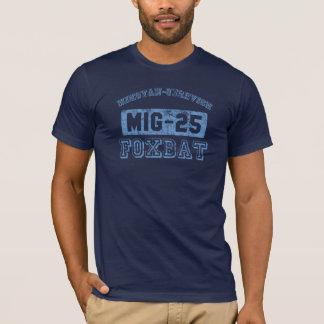 MIG-25 Foxbat - BLUE T-Shirt