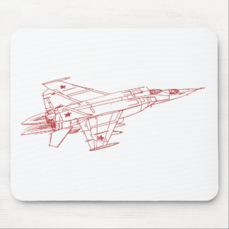 Mig-25UB Foxbat Mouse Pad