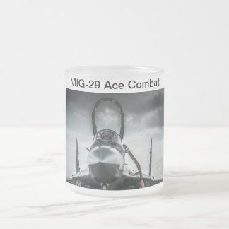 MIG-29 Ace Combat Frosted Glass Coffee Mug
