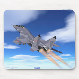 Mig-29 C Mouse Pad