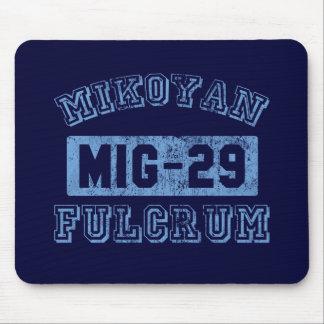 MIG-29 Fulcrum - BLUE Mouse Pad