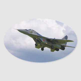 MiG-29 versión polaca 9.12A de la base en Malbork Colcomanias Oval