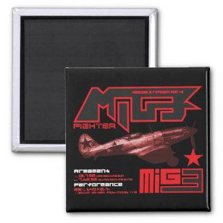 MiG-3 Refrigerator Magnet