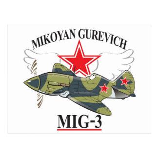 mig-3 mikoyan postal