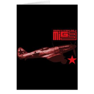 MiG-3 Felicitacion