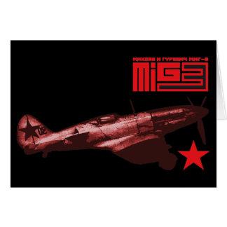 MiG-3 Felicitaciones