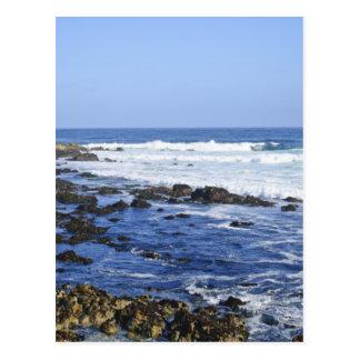 Migas de la playa tarjetas postales