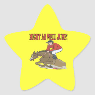 Might As Well Jump Star Sticker