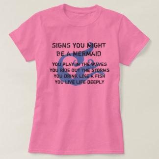 Might Be A Mermaid Tee