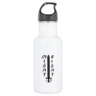 Might is Right Water Bottle