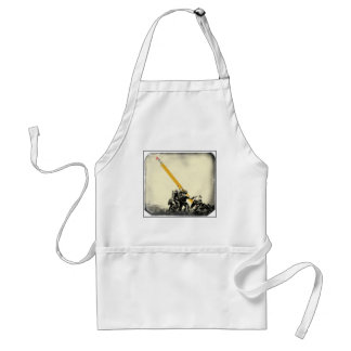 Mightier than the sword standard apron