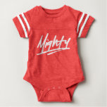 Mighty Baby Football Bodysuit
