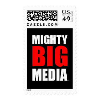 MIGHTY BIG MEDIA MAIL STAMPS