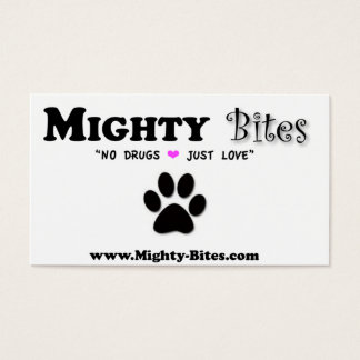 Mighty Bites Business Card