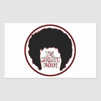 Mighty Boof Accessories Rectangular Sticker
