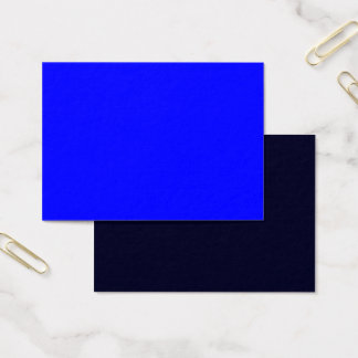 Mighty Business Card Royal Blue ~ Dark Blue