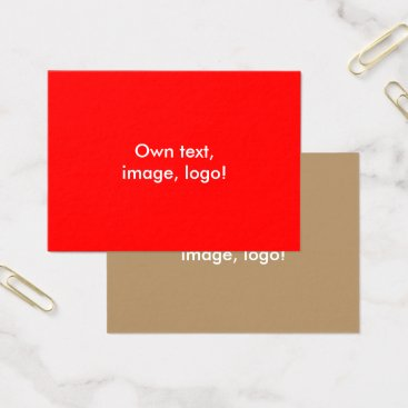 Professional Business Mighty Business Cards Red-Gold