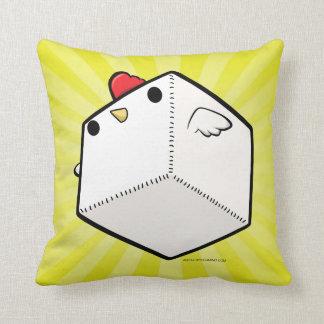 Mighty cockblock Pillow