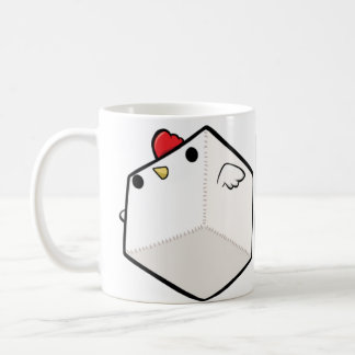 Mighty Cockblock White Mug