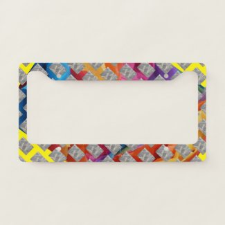 Mighty Color License Plate Frame
