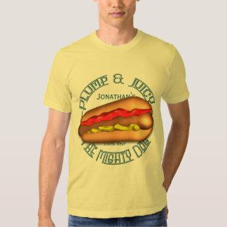 Mighty Dog Hotdog Tshirt