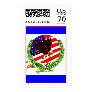 MIGHTY EAGLE POSTAGE STAMP